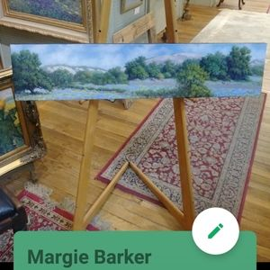 The famous southern artist Margie Barker